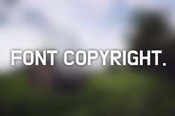 네이버 폰트 자료실 무료 폰트 사용시 주의사항, 폰트 저작권 정보
