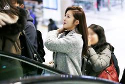 150211 김포공항 출국