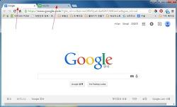구글 크롬브라우저 시작할때 탭이 두개뜨는 현상 제거