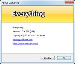 Everything 파일, 폴더 검색 프로그램