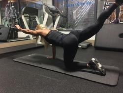 직장인을 위한 허리강화 운동 & 무릎강화 운동