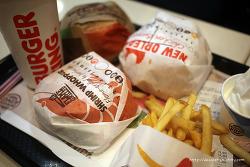 버거킹 프리미엄 버거 3종 BLT 뉴올리언스 치킨버거vs 통새우 와퍼 vs 콰트로 치즈와퍼