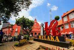 말라카 당일치기 여행 (네덜란드 광장, 파모사 요새, 세인트 폴 교회 등)