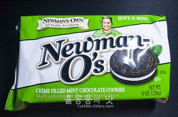 민트의 맛 40탄 - 민트맛오레오? Newman's Own 민트쿠키