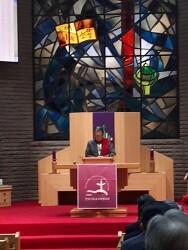 한국기독교교회협의회(NCCK) 이홍정총무 취임 축하의 말씀 - 김용복박사