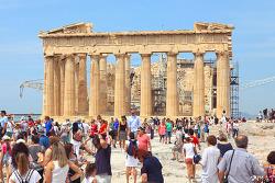 그리스 아테네 여행(16), 그리스 여행객의 필수 코스 아크로폴리스
