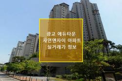 추석 이후 광교부동산 분위기와 광교 자연앤자이 아파트 실거래가 정보