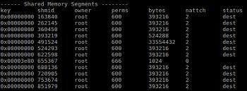 공유메모리와 POSIX세마포어 사용