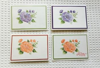 생일 꽃 카드