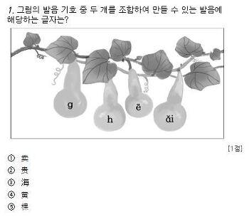 2016 수능 중국어 기출문제 1-10번 문항