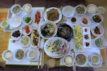[봉화농가맛집] '산수유길사이로', 테라푸드 음식점