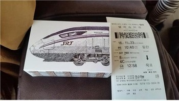 SRT와 함께한 목포여행 : SRT 탑승기