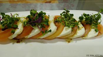 토마토 샐러드-카프레제