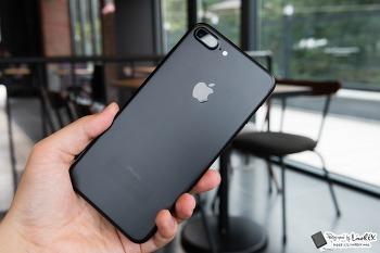 아이폰7 플러스 블랙 개봉기, 영롱한 첫인상