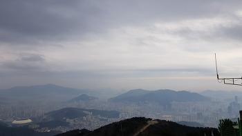 부산 백양산 산행