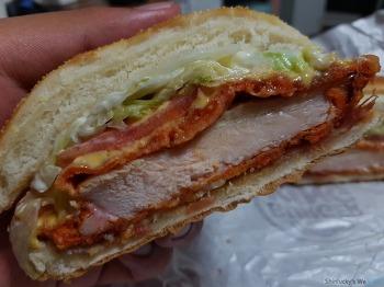 버거킹 - BLT 뉴올리언스 치킨버거