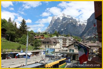 <유럽 자동차 여행> 스위스 그린델발트 (Grindelwald)