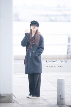 [2018.01.18] 인천국제공항 출국 걸스데이 민아 직찍 by. 문스