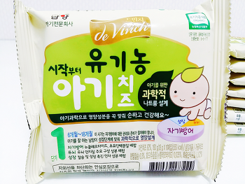Day503 드빈치 유기농 아기치즈 / 플렉사 치즈컷팅케이스