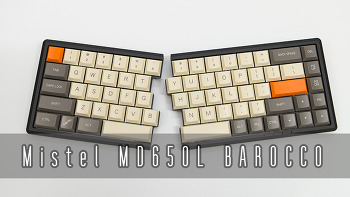 Mistel MD650L BAROCCO 키보드