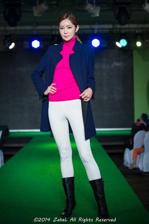 골프웨어 그린조이 2014 F/W 패션쇼(이수경, 이필모)