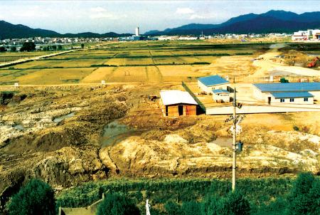 신도시가 들어선 1989년의 안양 평촌벌