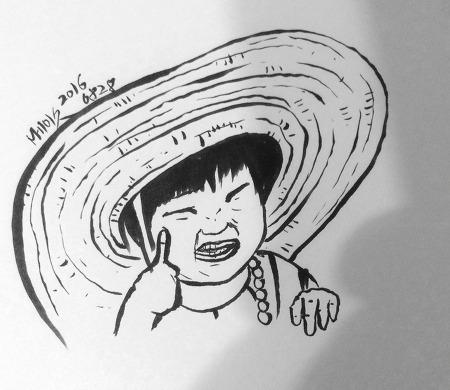 [붓펜]하영, 그리다