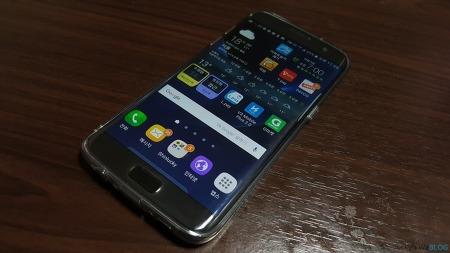 Galaxy S7 Edge Ringke Air Smoke Black