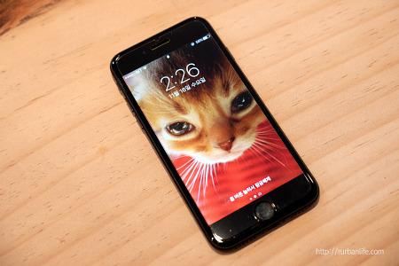 [아이폰7 매트블랙 사용후기]아이폰6보다 아이폰7이 나은 점
