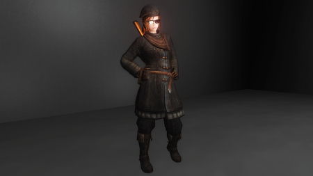 Wayfarer's Coat by Ellise [CBBE Bodysldie/ UUNP Bodyslide] [WIP]