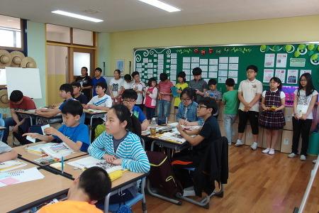 5월 28일 김 황 선생님 학생공개수업