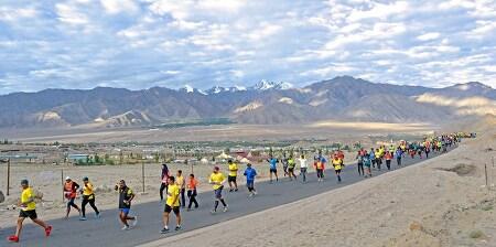 하늘 길을 달린다, 제7회 인도 라다크 마라톤 대회 9월 개최