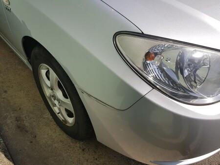 [도색판금] 아반떼HD차량 주차 기스및 생활기스 도색