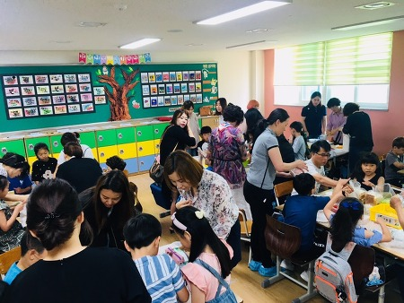 장락초 2학년 학부모 참여수업 실시