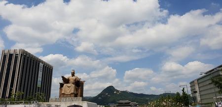 서울놀러가볼만한 곳-광화문 분수대