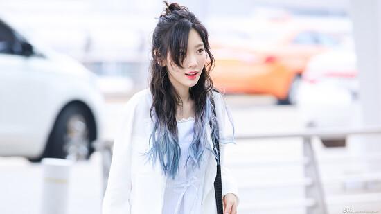 170609 인천공항 태연 출국 직찍