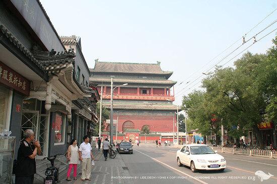 [베이징] 고루(鼓樓) 에 올라 베이징의 후퉁 감상하기