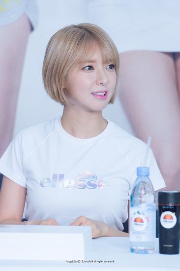 AOA (에이오에이), 엘레쎄 팬사인회 in 부산 광복점 #2