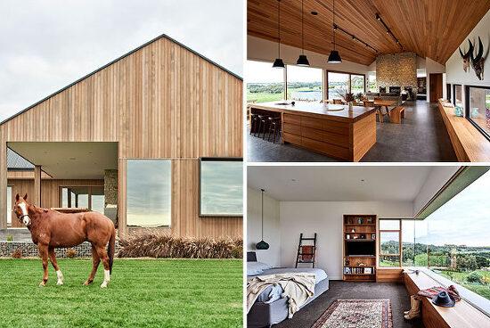 *목장에서 영감을 얻은 호주 주택-[ Dan Gayfer Design ] The rural home