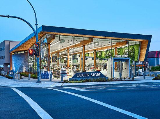 *캐나다의 유리외관이 특징인 주류점- [ GBL Architects ] The Tudor House Liquor Store