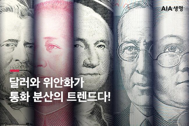 달러와 위안화를 이용한 통화 분산 + 자산 안정..