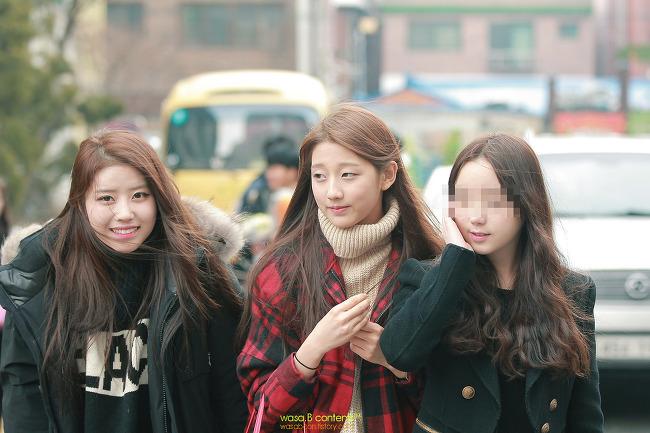 러블리즈 (Lovelyz) JIN 졸업식날 미주 예인 Kei