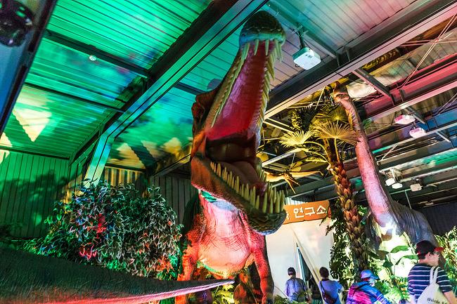 광명동굴 공룡체험전, 광명동굴 라스코전시관