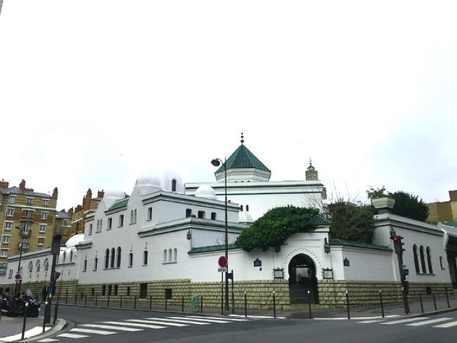 """[파리 5구] 이슬람 사원, 찻집 2유로 민트차  """" la grande mosquée de paris"""""""