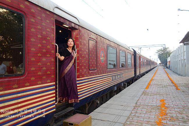 호화열차로 떠나는 인도여행 Day 7. 러크나우에서, 사리..