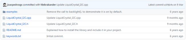 Arduino_LiquidCrystal_I2C Header 추가하는법
