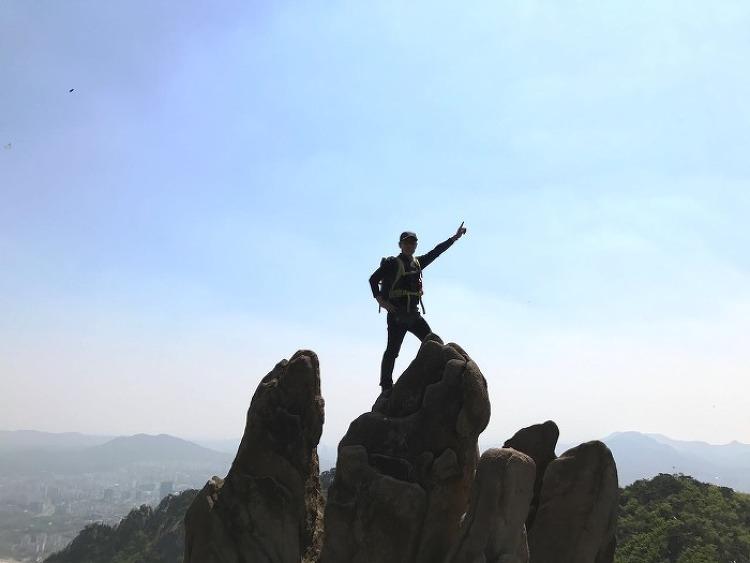 관악산 6봉 산행 170501