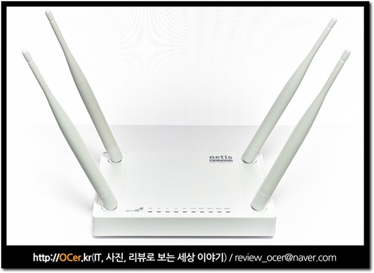 무선 와이파이 성능 좋은 공유기 네티스 netis WF2881 개봉기