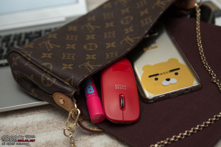 블루투스 마우스에 휴대용 보조배터리까지! kt 폰마우스(phone mouse) 사용기 및 응모 이벤..