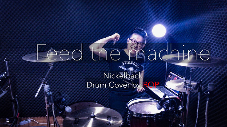 "Nickelback(니켈백)-""Feed the machine"" Dru.."